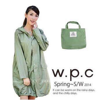 Плащ на молнии для женщин и мужчин chubasqueros Impermeables Mujer, дождевик пончо куртка capa de chuva - Цвет: Зеленый