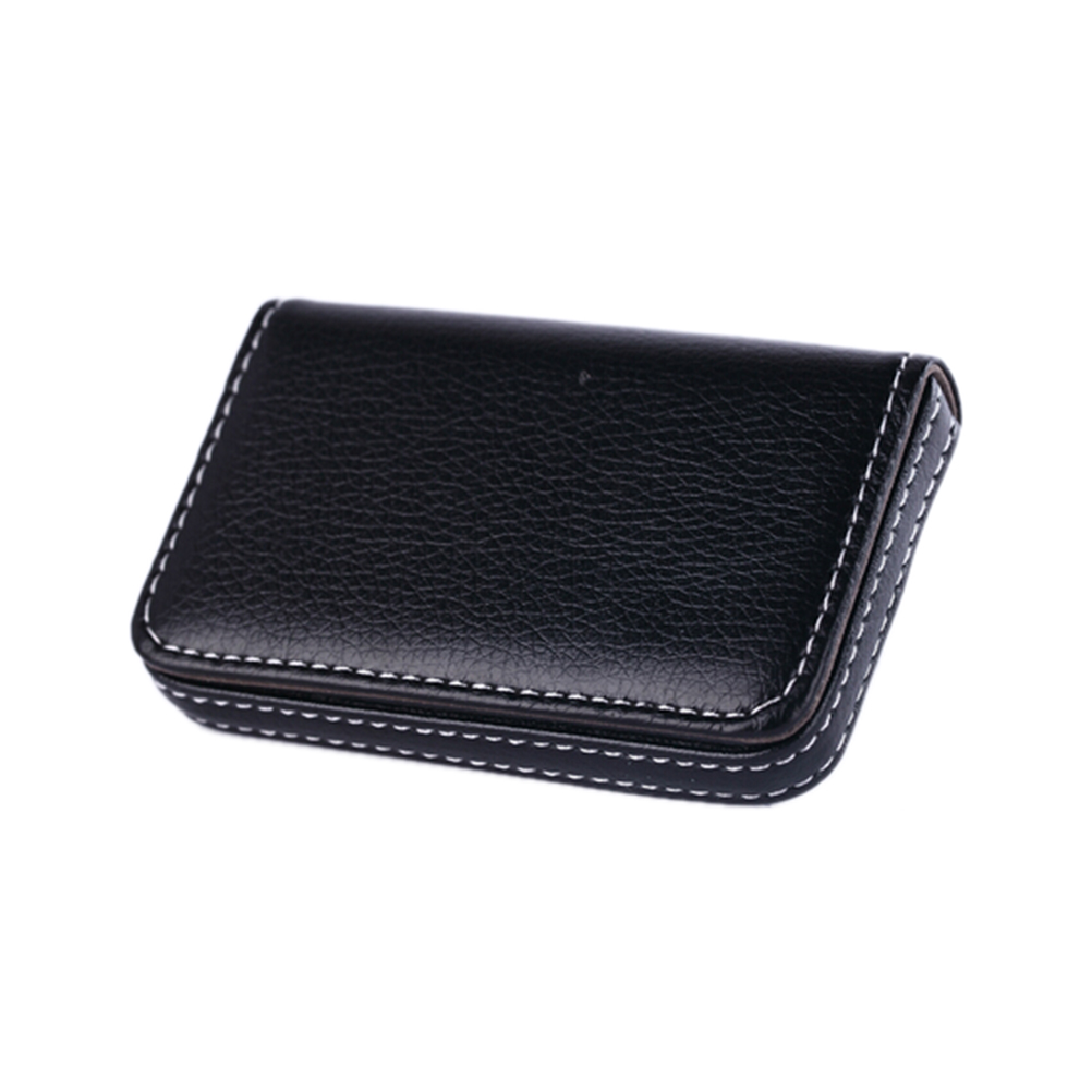 Office & School Supplies 1pc Pocket Pu Leather Business Id Credit Card Holder Case Wallet Office School Supplies Creative Gift For Friends New Year Desk Accessories & Organizer