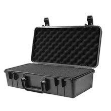 Boîte à outils en plastique ABS, boîte à outils scellée, boîtes d'extérieur, étui de sécurité de protection, stockage des outils, étui à outils résistant aux chocs