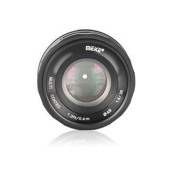 Meike 35mm f1.4 Large Aperture Manual Focus lens for Panasonic Olympus M4/3 /for Fuji X-mount EM10 EM5 EM1 EP5 EPL3 with APS-C