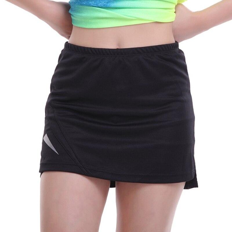 ★  2 в 1 женский спортивный тренажерный зал фитнес бег йога шорты для бега женские теннисные шорты юбка ✔