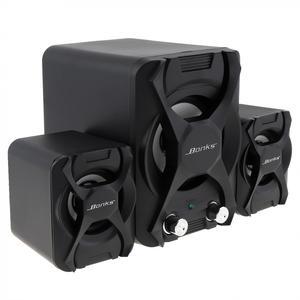 Image 3 - Bonks K2 Schwarz Notebook Kombination Subwoofer Lautsprecher mit Kräftige Bass Einstellung und Full Frequenz Volumen Control Knob