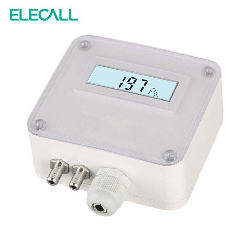 ELM110/112/116  Micro Differential Pressure Transmitter Air Pressure Transmitter Pressure Sensor 100-1000pa