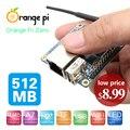 Nuevo orange pi cero h2 quad core 512 mb placa de desarrollo de código abierto más allá de raspberry pi