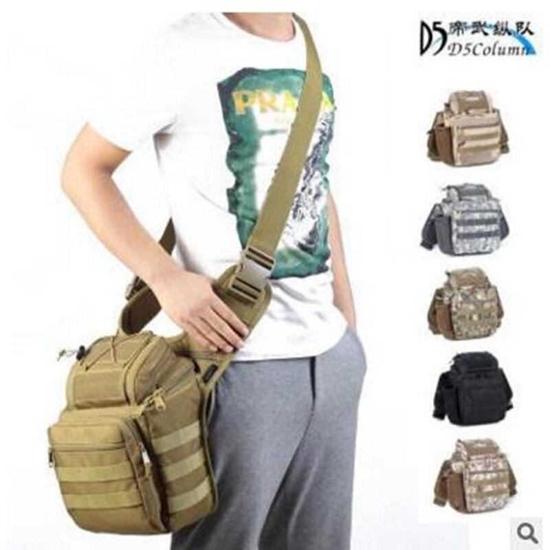 Military fans SLR camera bag font b tactical b font saddle outdoor photography messenger bag large