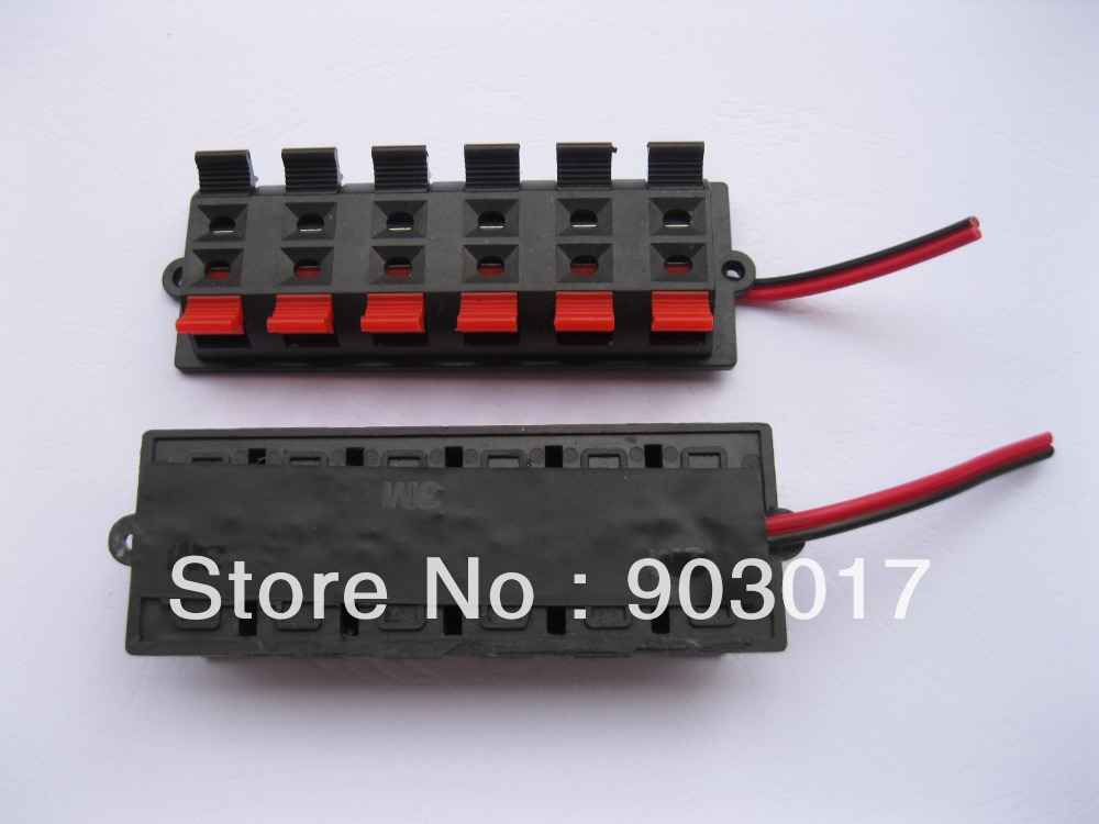 Aliexpress.com : Buy 2 pcs Speaker Terminal Board Connector Spring ...