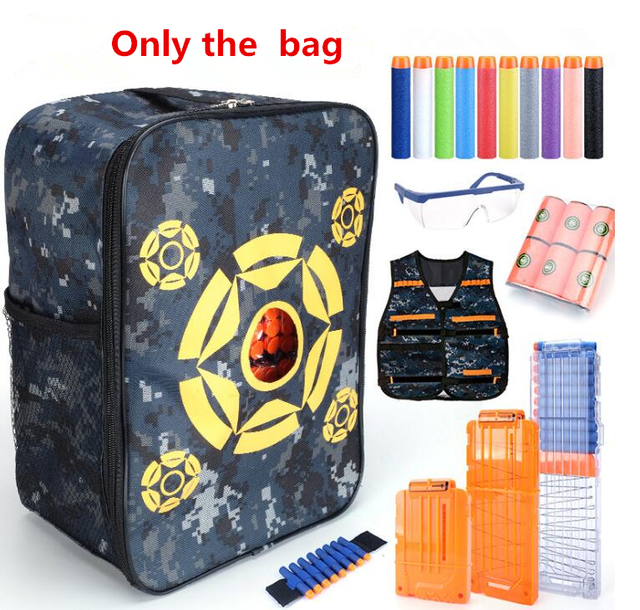 Target Pouch Storage Carry Equipment Bag for Nerf Guns Darts N-strike Elite    Mega   Rival Series be84387b1