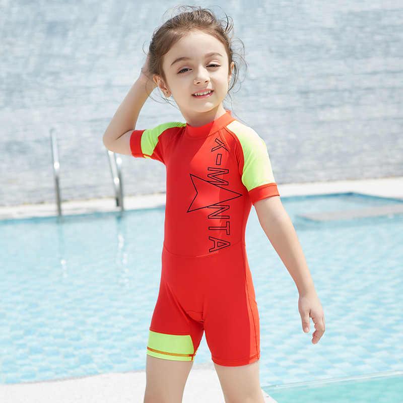 082101e501 ... New 2018 Boys Cartoon Sports Bathing Suits Children Kids Swimsuit For Boys  One Piece Swimwear Beachwear ...