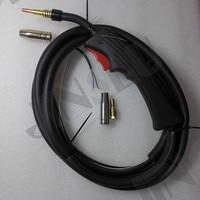 2.5 Meters OEM MB 15AK 15 AK Mig Torch with Gas Value for MIG 130 Mig Welder 100AF JINSLU Mig Gun welding machine parts