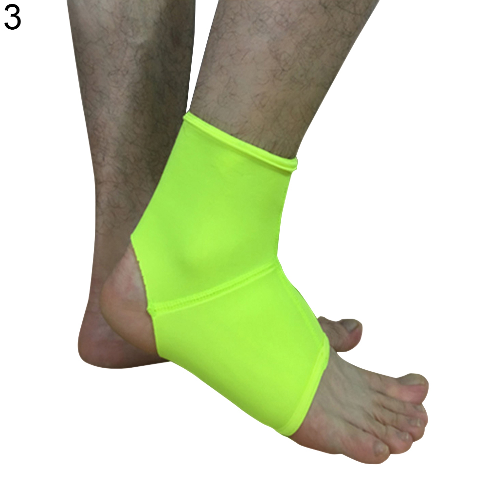 Solid Color Running Basketball Sports Sprain Ankle Protector Guard Brace Support