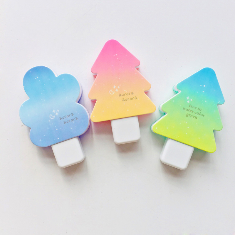 6 Meters Colorful Tree Design Correction Tape Eraser For Writing Student Stationery
