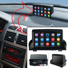 Повышен оригинальный автомобиля мультимедийный плеер автомобиля GPS навигации костюм для Peugeot 307 Поддержка Wi-Fi смартфон Зеркало-link Bluetooth