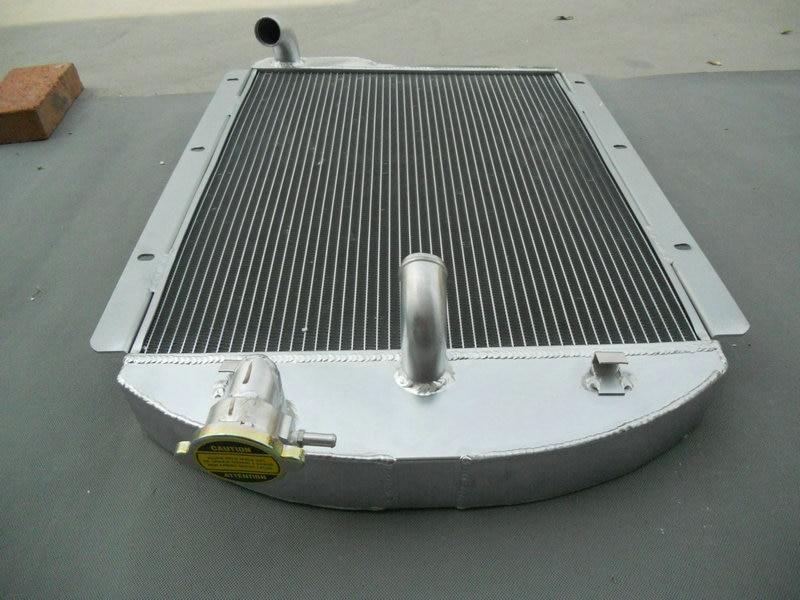 3Row FOR Chevy PickUp Trucks 1941 42 43 44 45 1946 Aluminum Radiator FAN