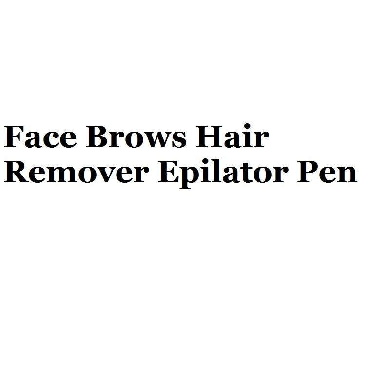 Универсальный губная помада триммер для бровей Уход за кожей лица брови для Удаления Волос Эпиляторы ручка мини-электробритва безболезнен...