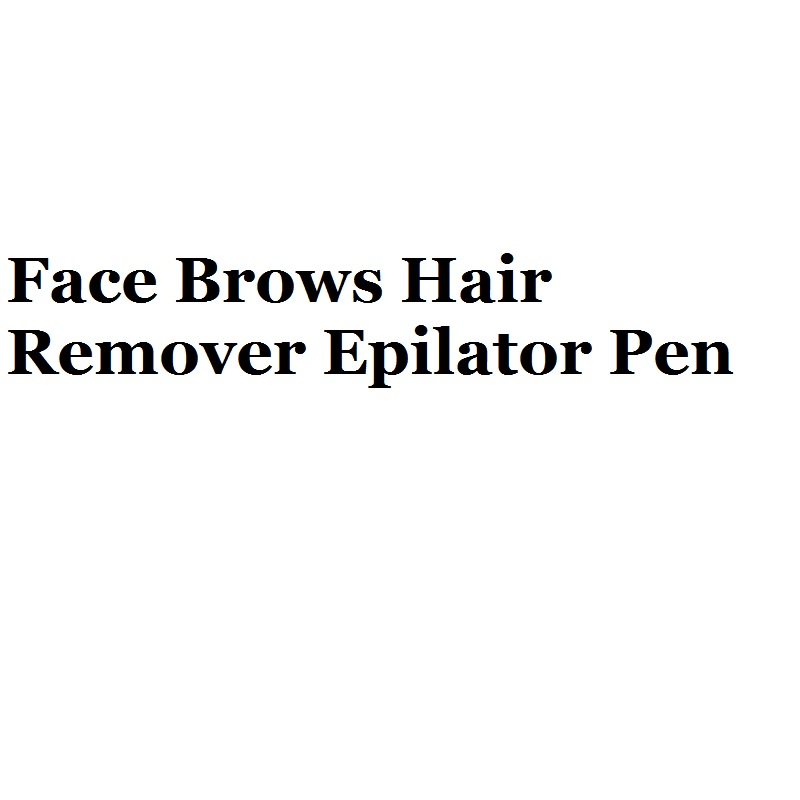 Универсальный губная помада триммер для бровей Уход за кожей лица брови для Удаления Волос Эпиляторы ручка мини-электробритва