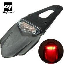Универсальный мотоцикл Fender поворотники 12 светодиодный стоп тормоза задние фонари назад всплеск защитный абажур для лампы