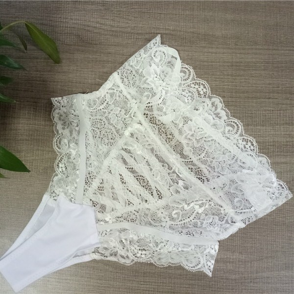 Jian Peng Sexy Lace knickers Women Fashion High-Rise Ladies brief Straps Hollow G-String shorts  sexy underpants