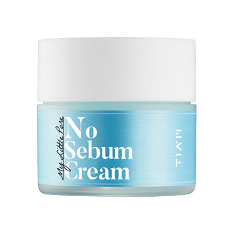 Korea Cosmetic TIAM My Little Pore No Sebum Cream 50ml Face Cream Skin No Sebum Control Removal Oily Pore Firming Facial Cream tonymoly мыло al series red clay sebum control 120 г