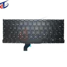 "5pcs/lot A1502 Spain Spanish keyboard for macbook A1502 SP keyboard spanish pro 13"" retina 2013 2014 2015year"