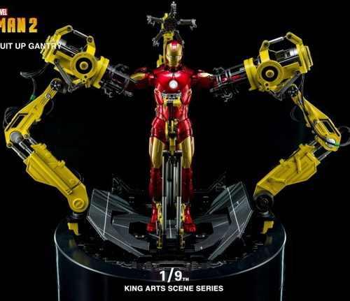 King Arts DFS022 KSS008 Diecast Action Iron Man Mark4 Action