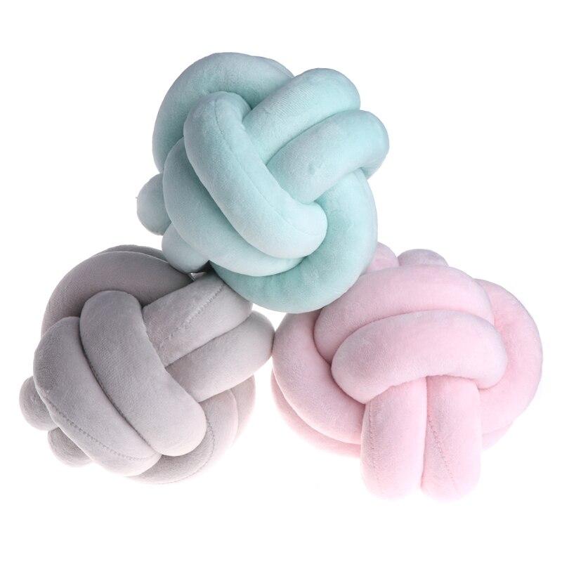 1 Pc Baby Cartoon Knoten Ball Kissen Infant Ruhe Schlaf Puppen Spielzeug Dekoration Bett Zimmer Requisiten Für Baby Ruf Zuerst