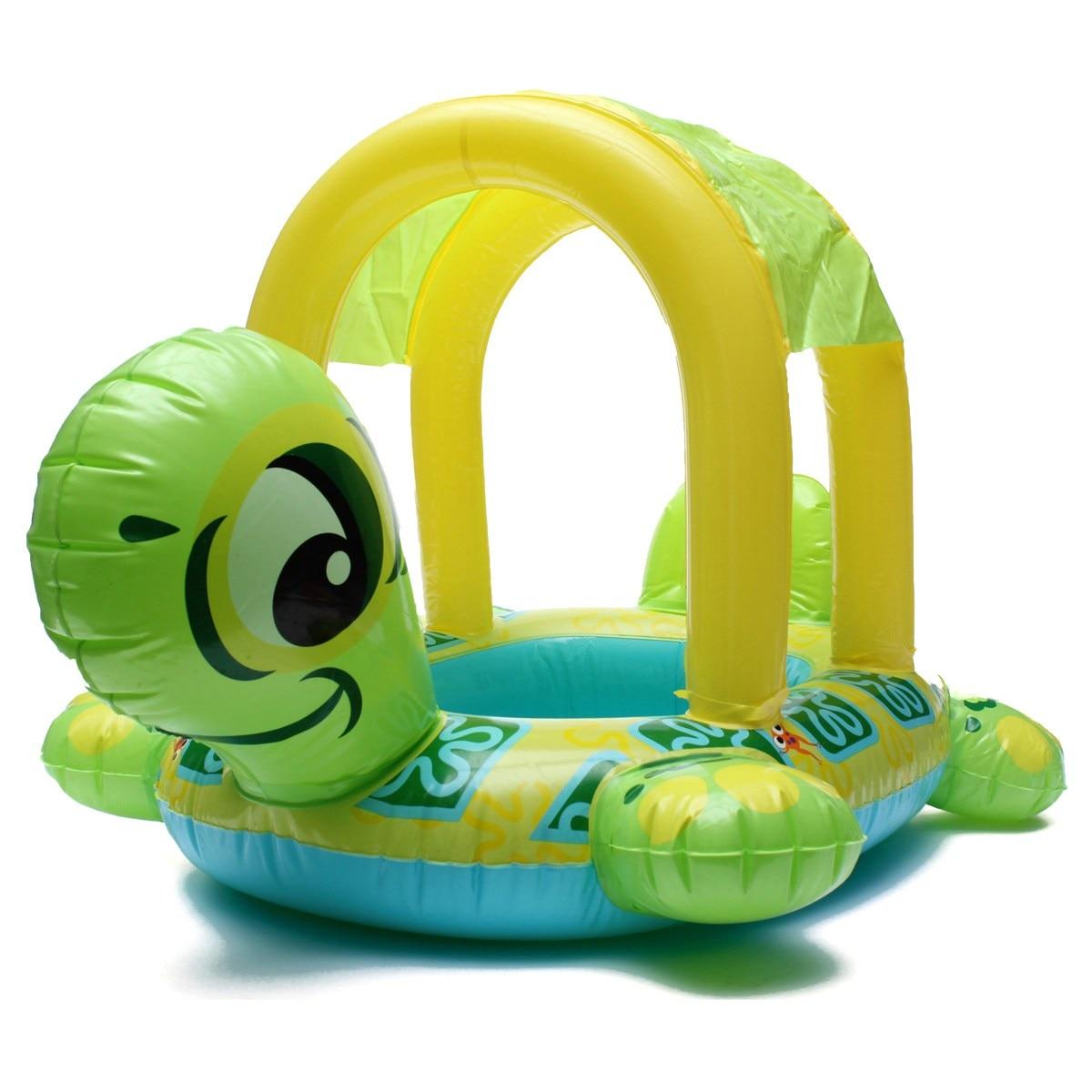 Baby Kids Swimming Ring Float Seat Turtls
