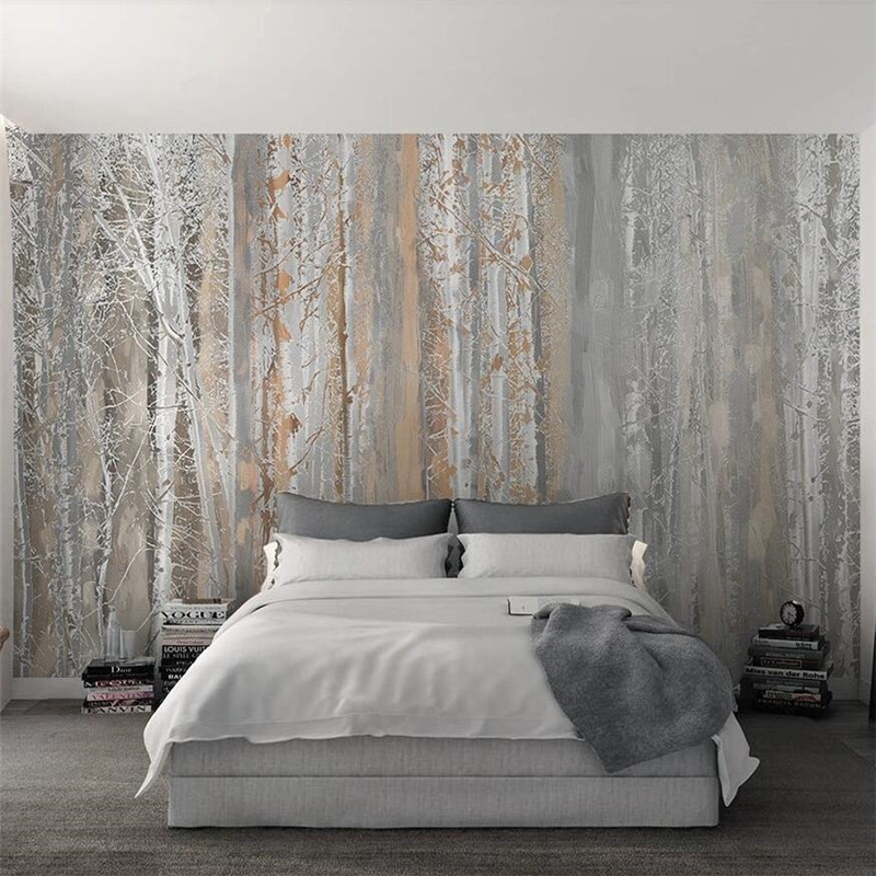 beibehang papier peint Custom wallpaper Plain texture woods Nordic style TV backdrop wall papers home decor wallpapers