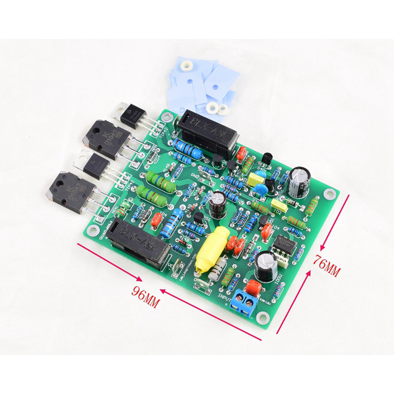 2pcs 100W x 2 Stereo Dual Channels QUAD405 upgrade version QUAD405-2 Audio  Amplifier Board Amplifiers Finished Board G7-012