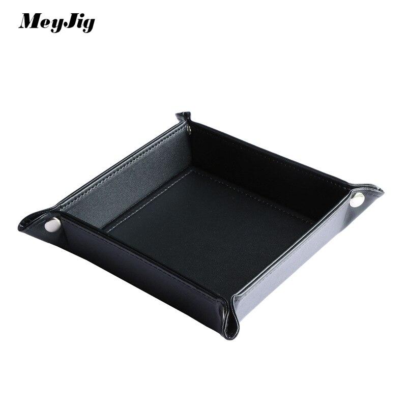 Meyjig кожа стол caket разное складной ящик для хранения изменение и ключ организатор ПУ изменение складной конфеты Творческий небольшая коробк... ...