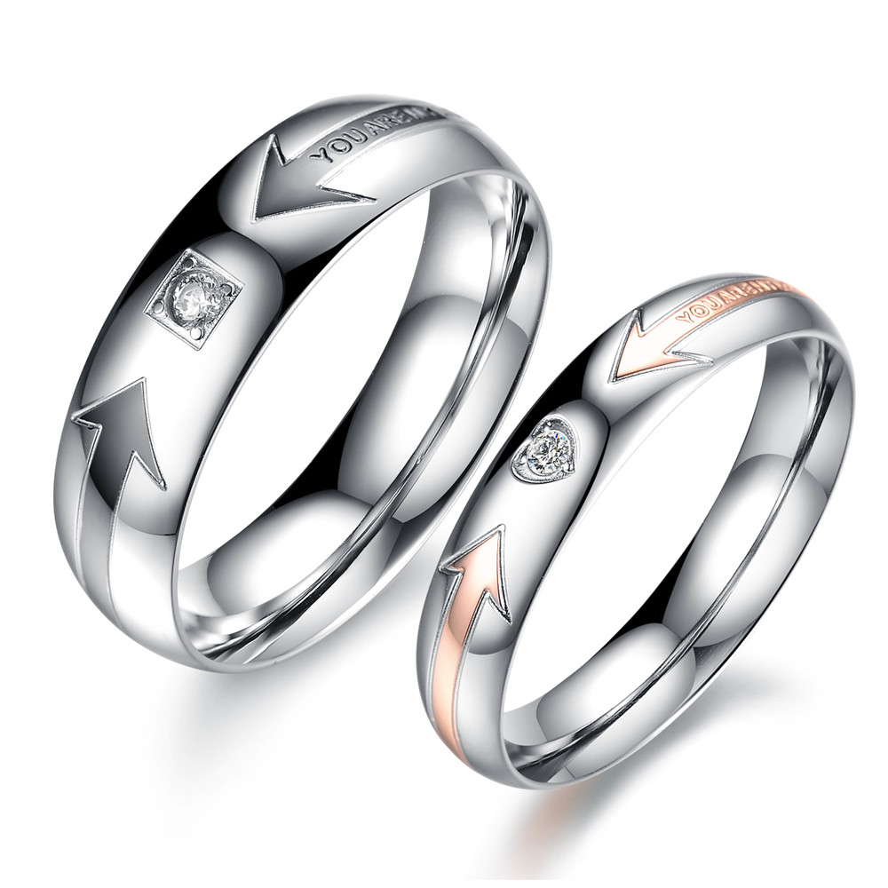 Wedding Ring / Couple Rings / Engrave\