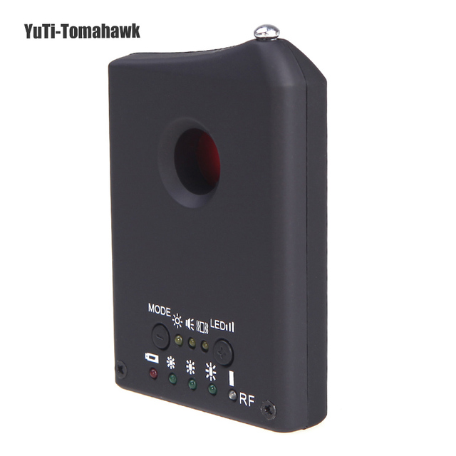 2016 Anti Spy Detector LDRF-DT1 Camera Hidden GSM Audio Bug Finder GPS Signal Lens RF Tracker Sensors Anti Spy Detector