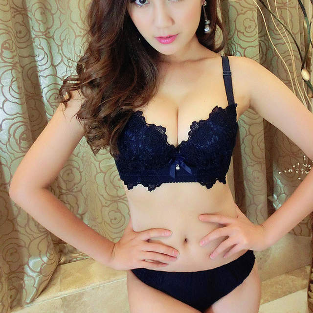 05ad3a380a9a3 placeholder Chinese style Vintage Embroidery sexy push up women bra set  young girl sets ladies underwear cotton