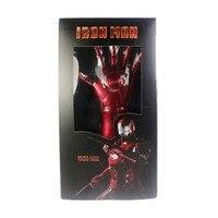 Il FILM Tony Stark La Mano Sinistra Luce Up PVC Cosplay Spedizione Gratuita