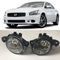 Car Styling For Nissan Maxima 2008 2014 9 Pieces Leds Fog Lights H11 H8 12V 55W
