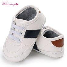80a4336f8faac PU en cuir Bébé Mocassins Infantile Nouveau-Né Bébé Chaussures Pour Enfants  Sneaker Sport Chaussures Enfant Bébé Garçon Filles .