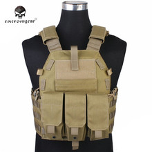 Emersongear Molle Vest Hunting Game Tactical Carrier Airsoft 094K M4 Pouch Hunting Vest Tactical Vests Combat Gear EM7356