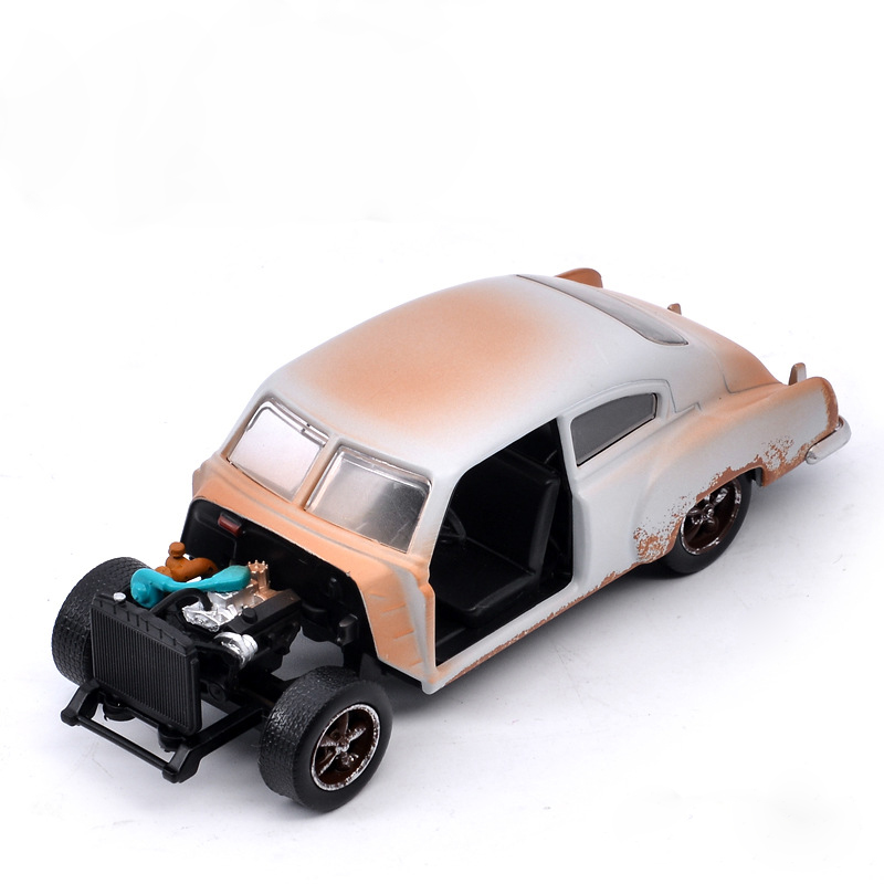 1:32 Jada Fast And Furious Alloy Car Chevy Fleetline 1951 Bus Metal Diecasts Classic Model Toy Collection Toys For Children Gift