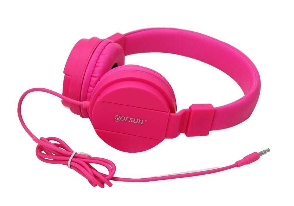 แฟชั่นน่ารักสายหูฟังหูฟังสเตอริโอหูฟังหูฟังพร้อมไมโครโฟนควบคุมระดับเสียงสำหรับสาวเด็ก Samsung iPhone เกม