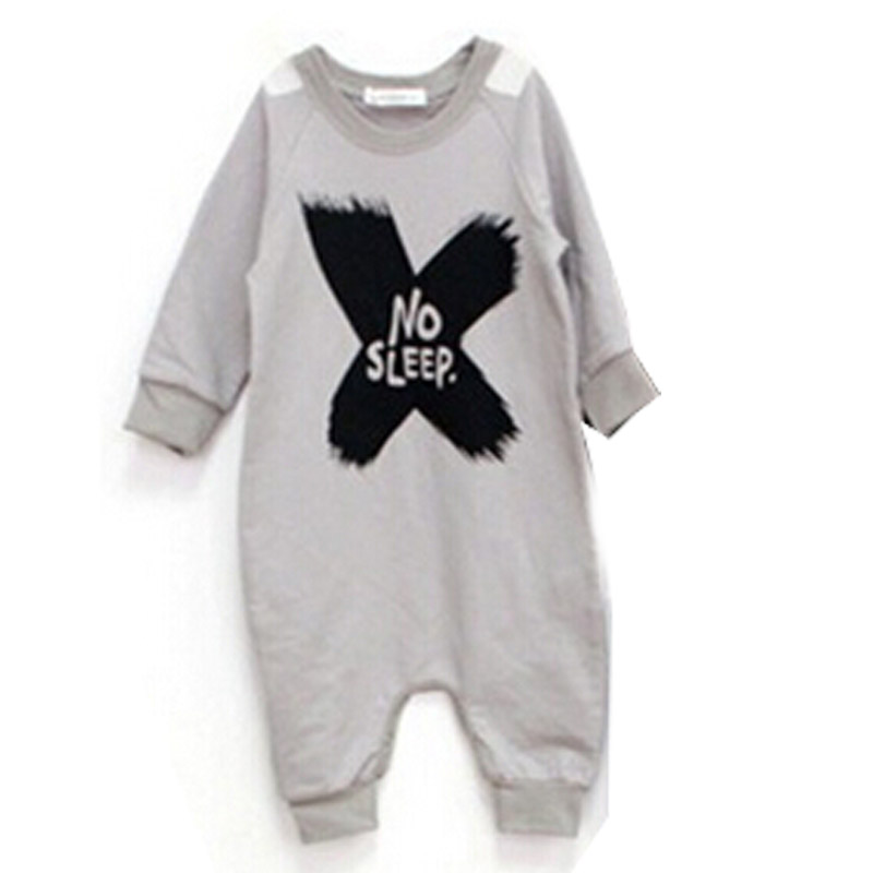 Hurave 2017 Hot Sale Spring Autumn Cotton Baby Girls Boys long sleeve Romper Jumpsuit Outfits Baby Boy Clothes