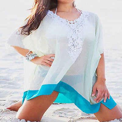 e09d8776a4 ... 2017 Women Swimwear Ladies Chiffon Wrap Beach Dress Sarong Pareo  Bikinis Set Cover-Ups Scarf ...
