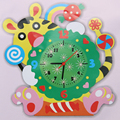 New Cute Model Building Kits Handmade DIY 3D Animal Learning Clock Kids Crafts Educational Toy
