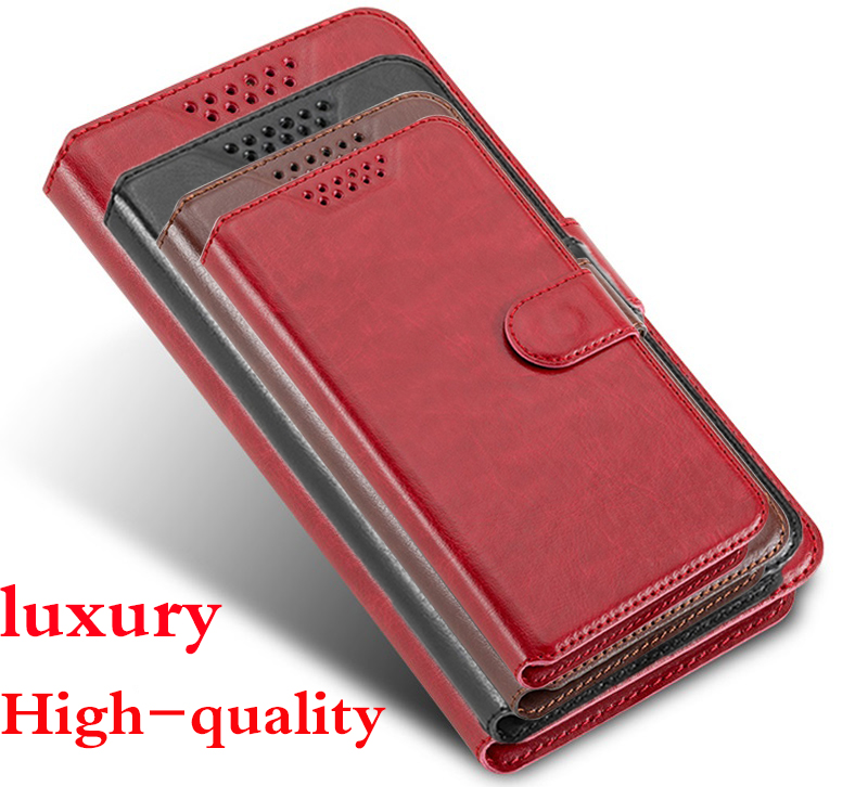 Flip Case For Senseit E400 Case Luxury PU Leather Wallet Card Slot Stand Protect the phone case For Senseit E 400