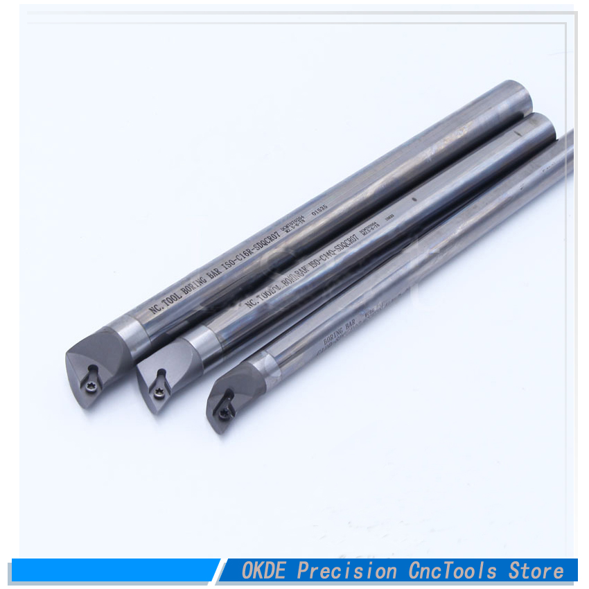 55 degree DCMT11 insert 8mm 32mm internal Turning Tool Factory Outlets sdqcr boring Bar lathe machine