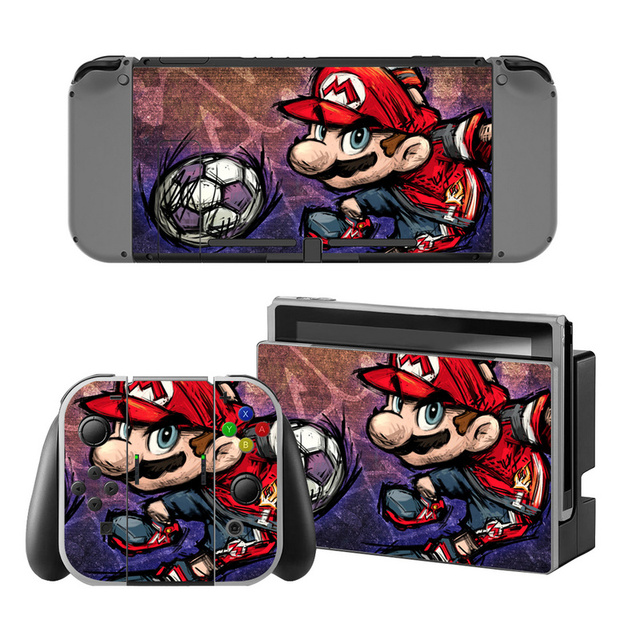 Mario Vinyl Skin Sticker for Switch Console Protector Cover Decal Vinyl Skin for Skins Stickers 2