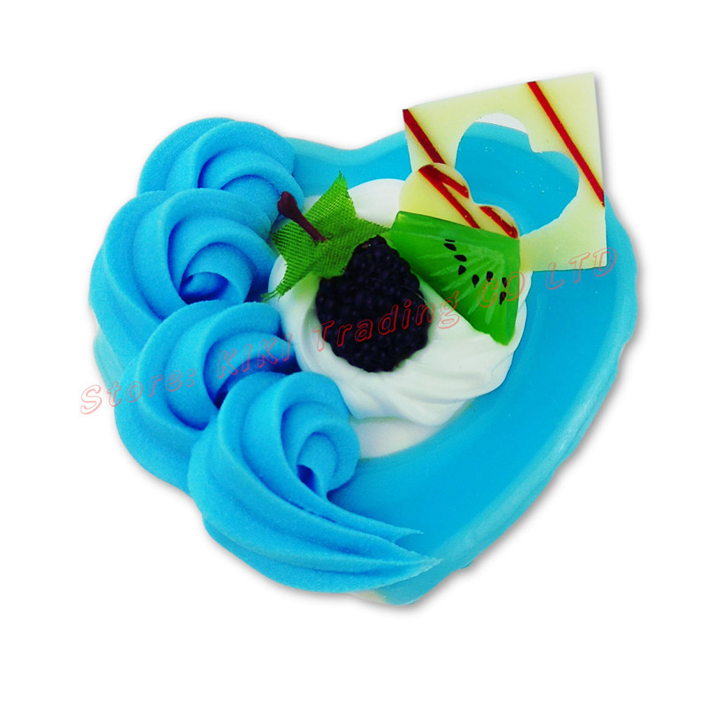 2018 Super Lovely Heart Music Box Classic Happy Birthday Hand Crank Cake Shape Jewelry Nice Gift For Kids