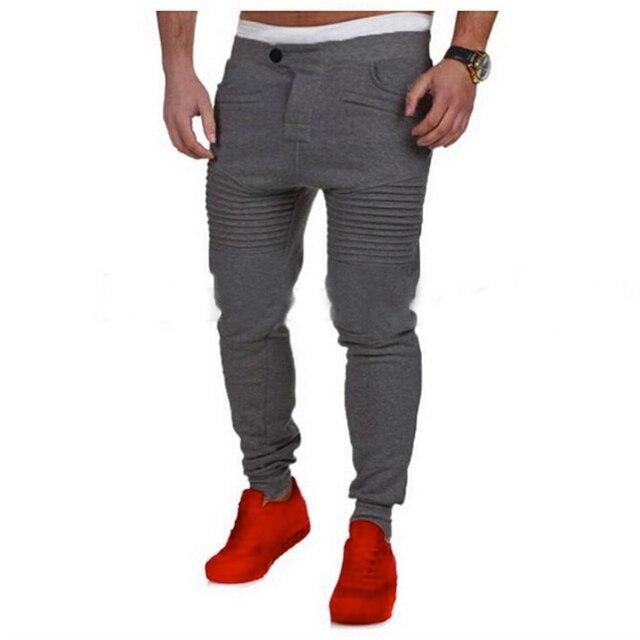 77d8bec2fbcd2 Men's Casual Leisure autumn fashion joggers slim fit pants men pantalons  homme sweatpants harem sweat pants hombre pantacourt
