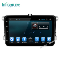 Infispruce 2G RAM Android 6 0 Car DVD For VW Volkswagen SKODA GOLF 5 Golf 6