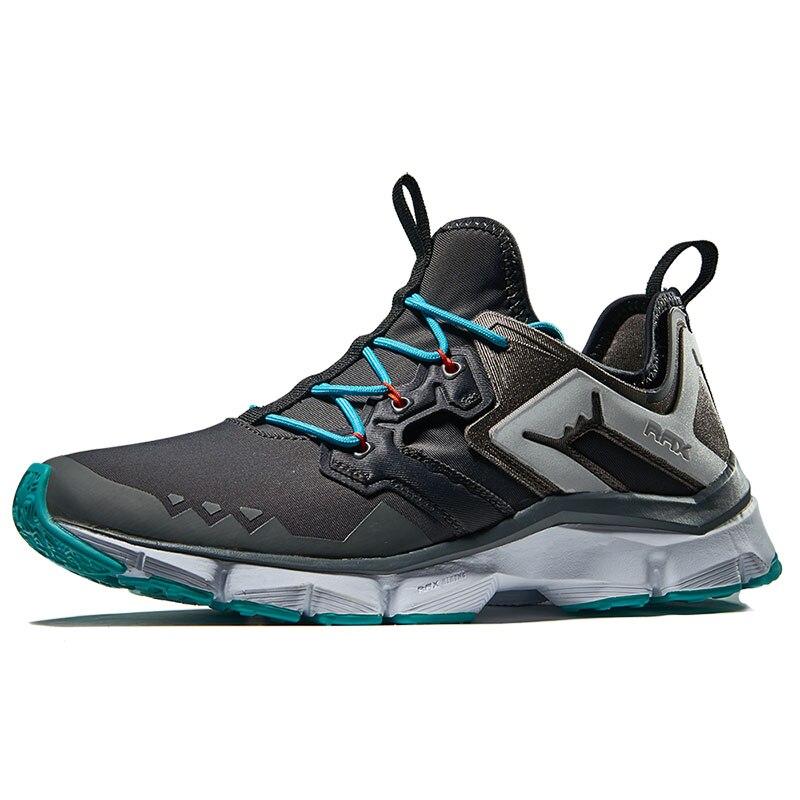RAX Hommes chaussures de course amorties de Safe Nuit Courir Sports de Plein Air Marque Sneakers Hommes chaussures de randonnée Mâle Gym chaussures de course
