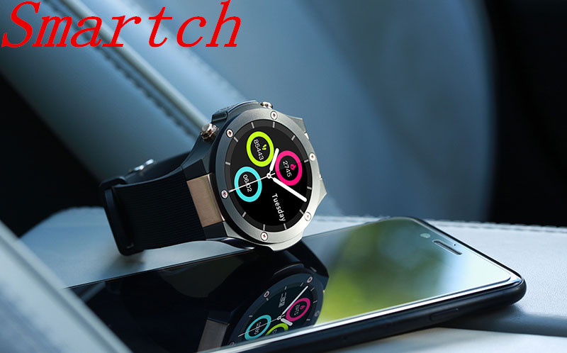 Smartch H2 GPS Smart Watch Android with Heart Rate Tracker SIM WIFI 5.0M HD Camera Android 5.1 Smartwatch PK KW88 KW99 Upgrade f interpad dm98 smart watch big screen 2 2 inch ips hd huge 900mah battery android phone clock support gps wifi sim smartwatch
