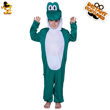 DSPLAY Original High-quality Temperament New Style Childrens Day Kids Cosplay Dinosaur Fashionable Hood Accessories Boys Suit